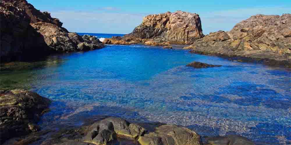 La Isla de Lobos en Fuerteventura.