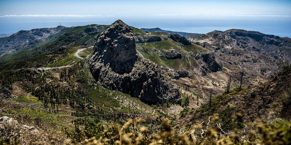 Este roque es una de las cosas que ver en La Gomera