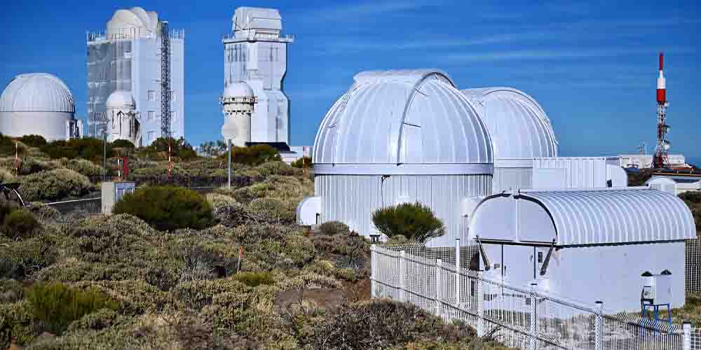 Intalaciones del observatorio del Teide.