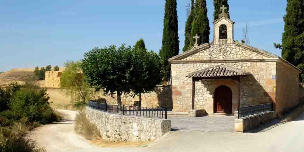 Una ermita para que los peregrinos puedan descansar.