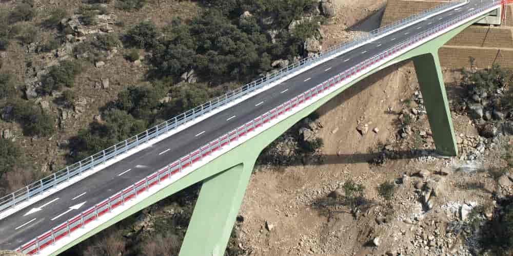 Carretera en Segovia