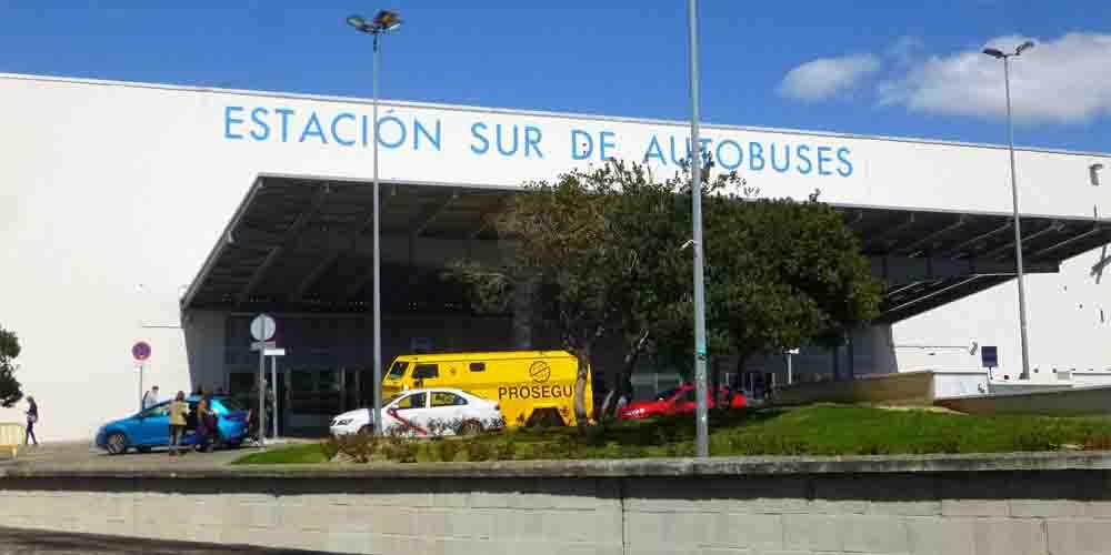 Estación sur de autobuses para ir a Toledo desde Madrid en transporte público.