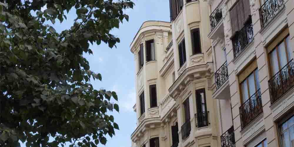 Apartamentos de alquiler en las residencias del barrio Chamberí.