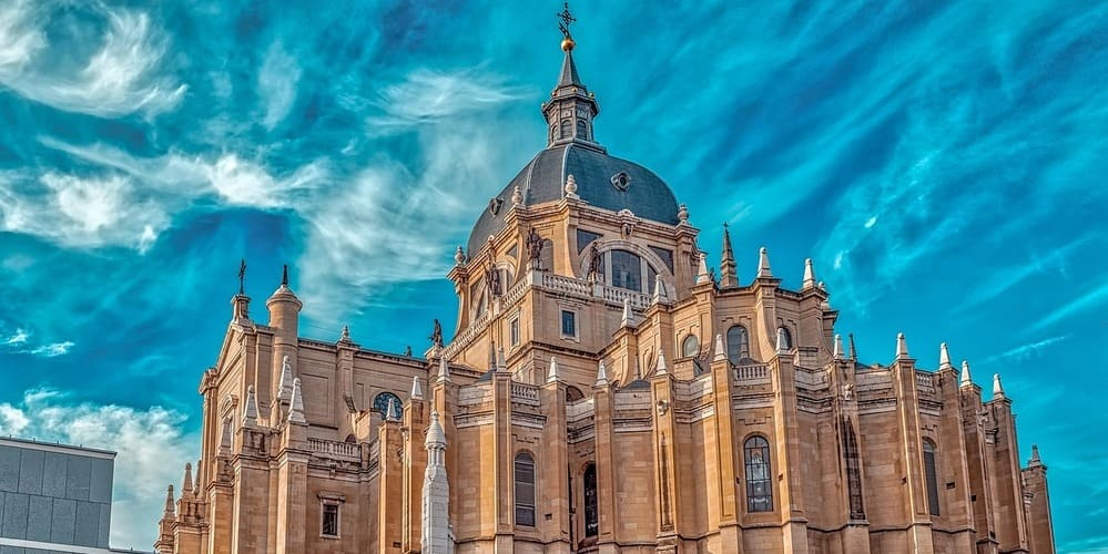 La cúpula de la Catedral de la Almudena, un fantástico mirador de Madrid