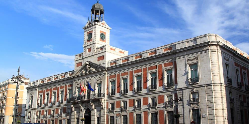 Casa de Correos, uno de los monumentos más antiguos de Madrid
