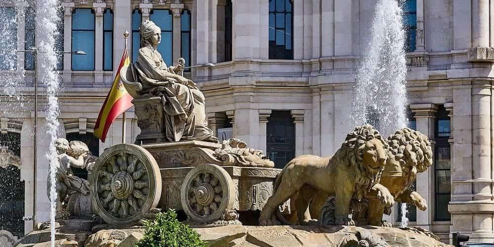 Fuente de Cibeles, un monumento emblemático de Madrid