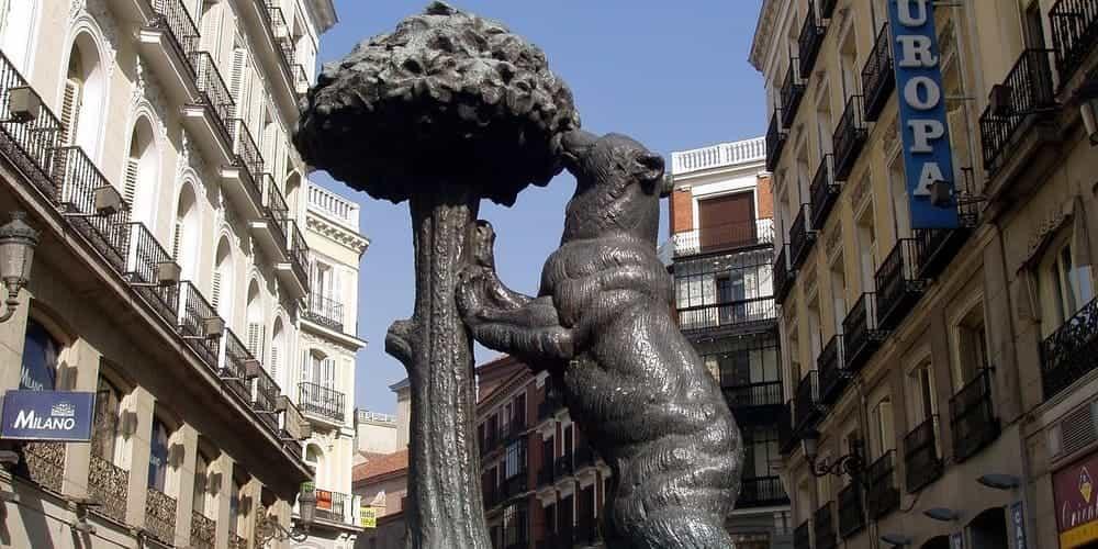 El Oso y el Madroño, una de las estatuas más famosas de Madrid
