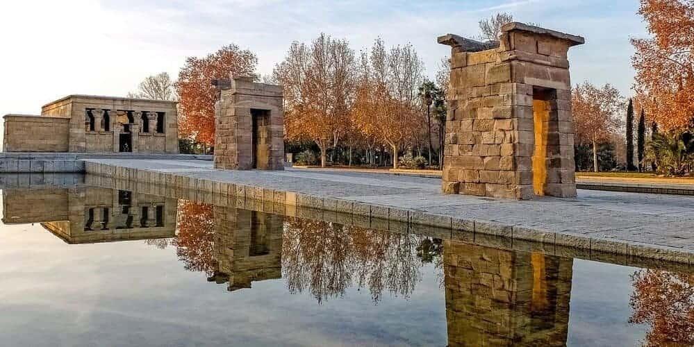 Templo de Debod, conoce la cultura egipcia en Madrid