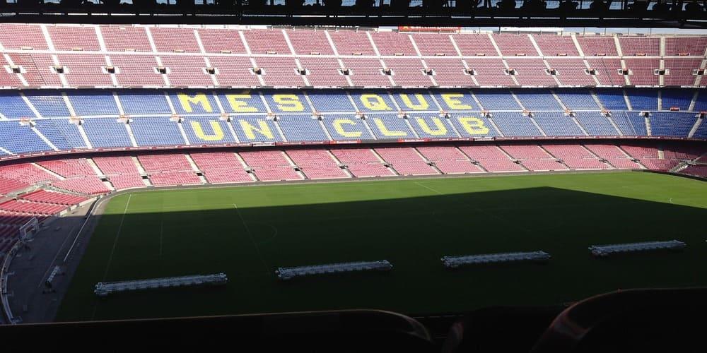 Una visita importante en Barcelona es el Museo del Camp nou