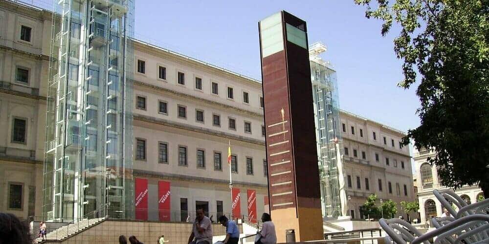 Museo Reina Sofía, catalogado como uno de los mejores museos de Madrid gracias a la variedad en sus obras de arte
