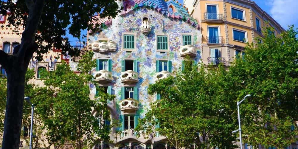 Casa Batlló, una obra de Gaudí preciosa que ver en Barcelona