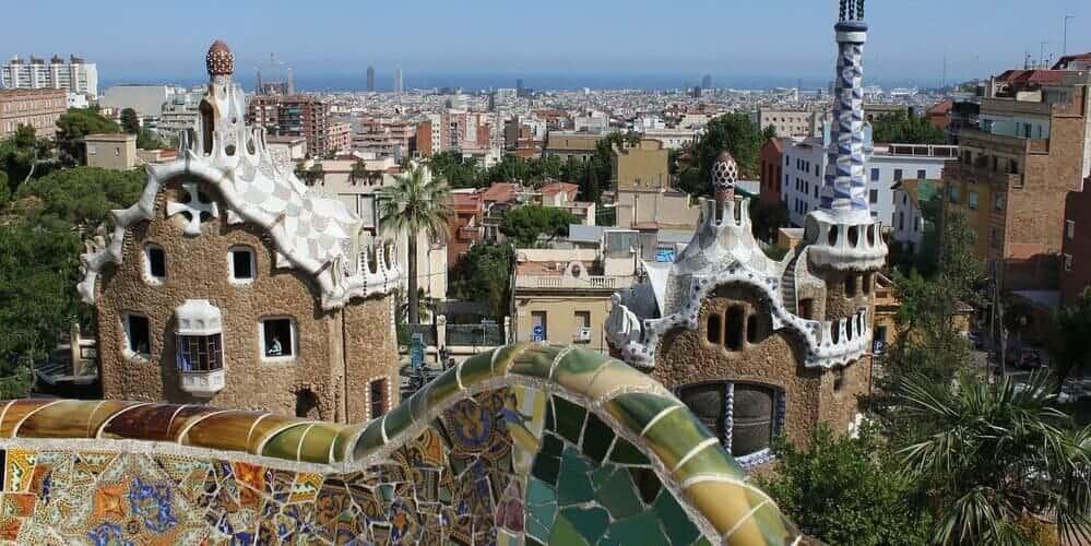 El Parque Güell, uno de los lugares más bonitos de artista Gaudí