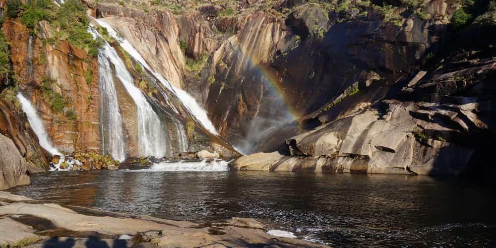 La Cascada de Ezaro