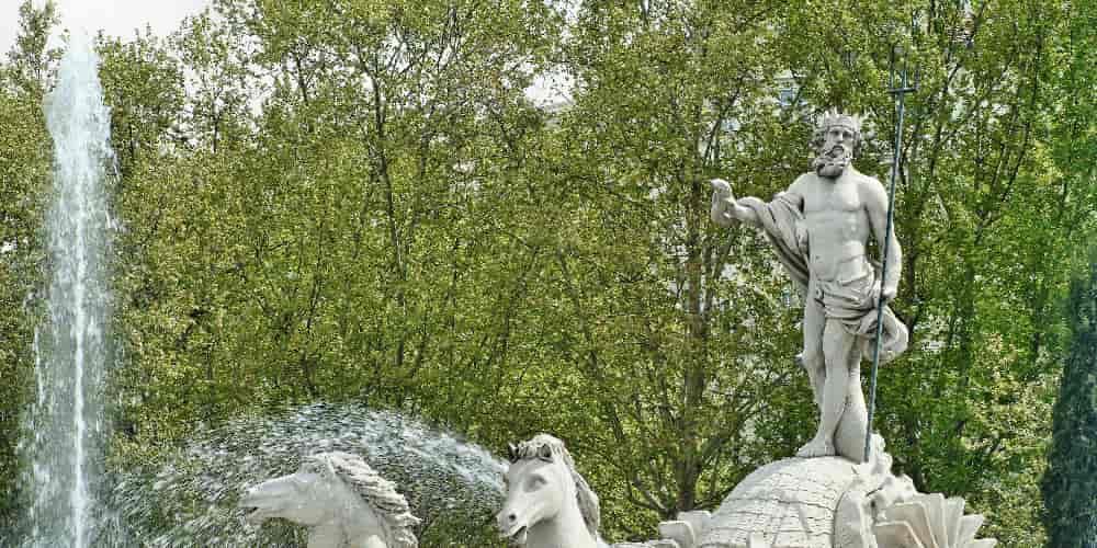 La estatua de Neptuno