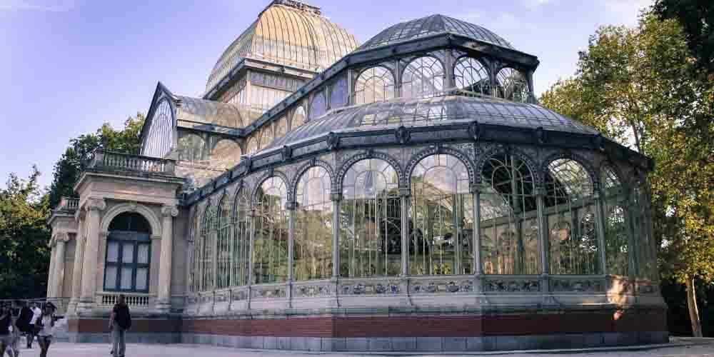 El Palacio de Cristal que ver en el Parque del Retiro de Madrid en 3 días.