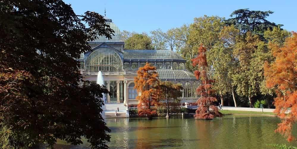 El Palacio de Crista, dentro del Parque del Retiro