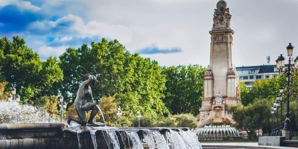 Plaza de España, un lugar emblemático que visitar en Madrid.