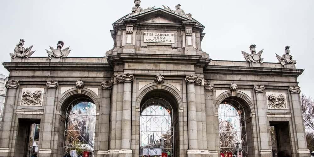 La Puerta de Alcalá, un lugar famoso de Madrid