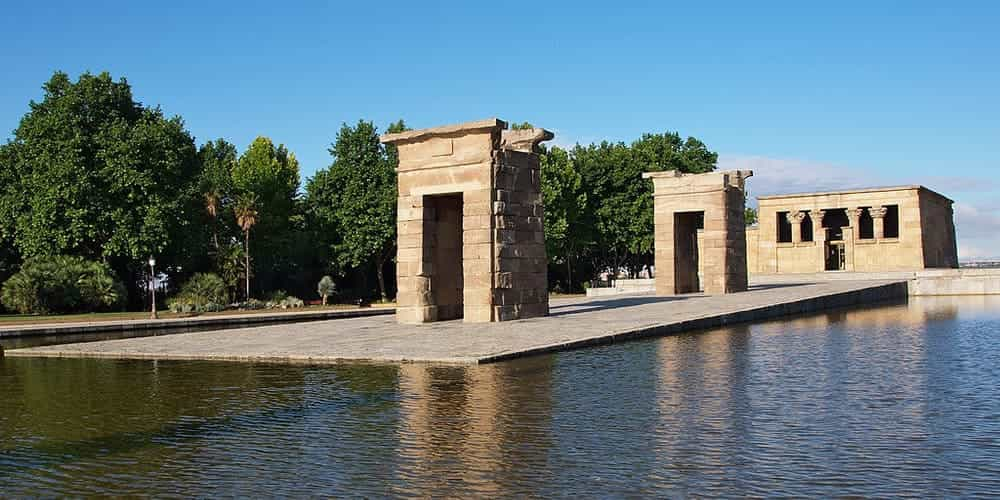 Templo de Debod, una parada con mucha historia