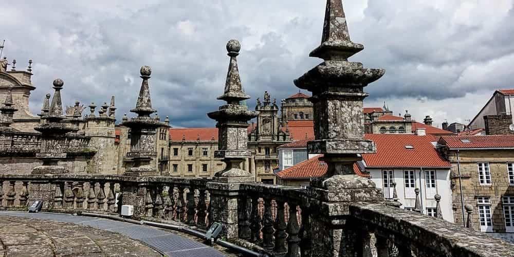 El Casco Antiguo, uno de los lugares con más historia de Santiago