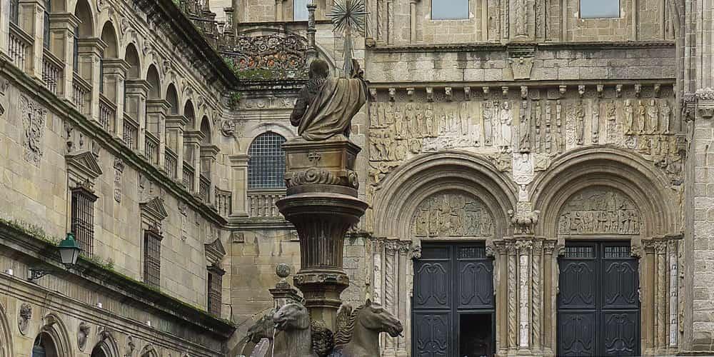 Fuente de los Caballos, un icono de la ciudad