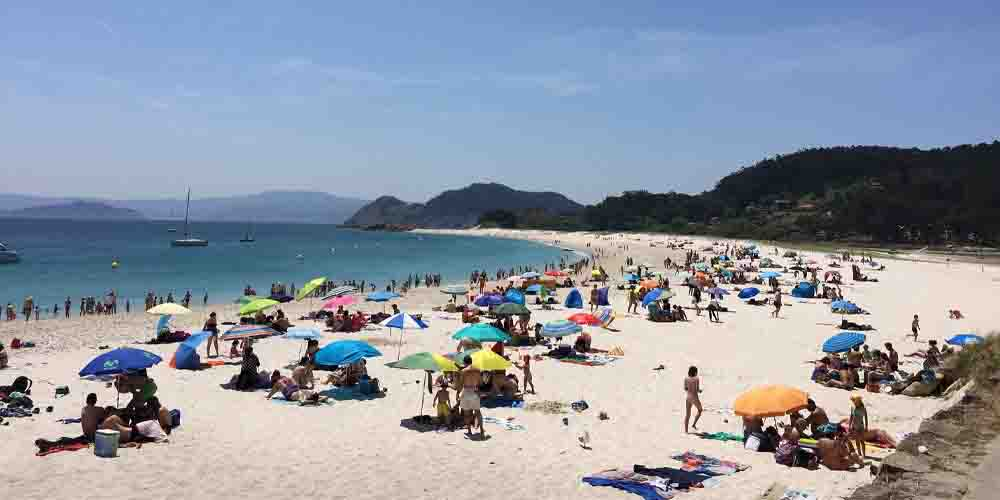 Cómo visitar la playa de Rodas en las Islas Cíes de Galicia.