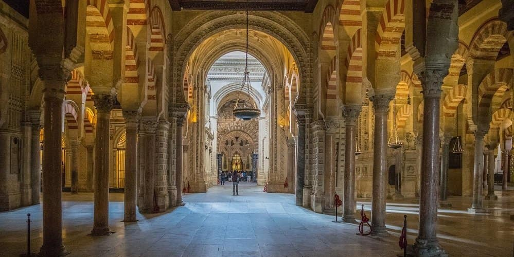 La mezquita es un lugar obligatorio de tu itinerario para ver Córdoba en dos días