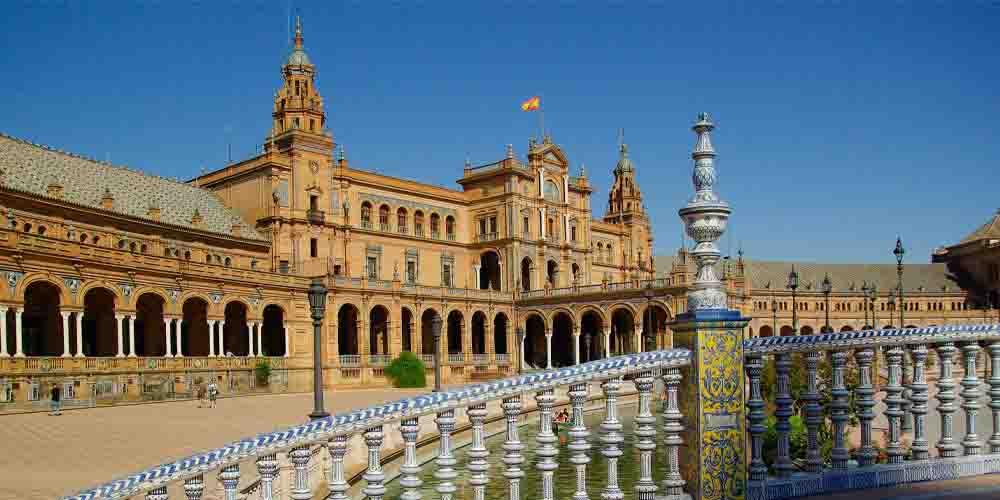 Vista de Plaza España.