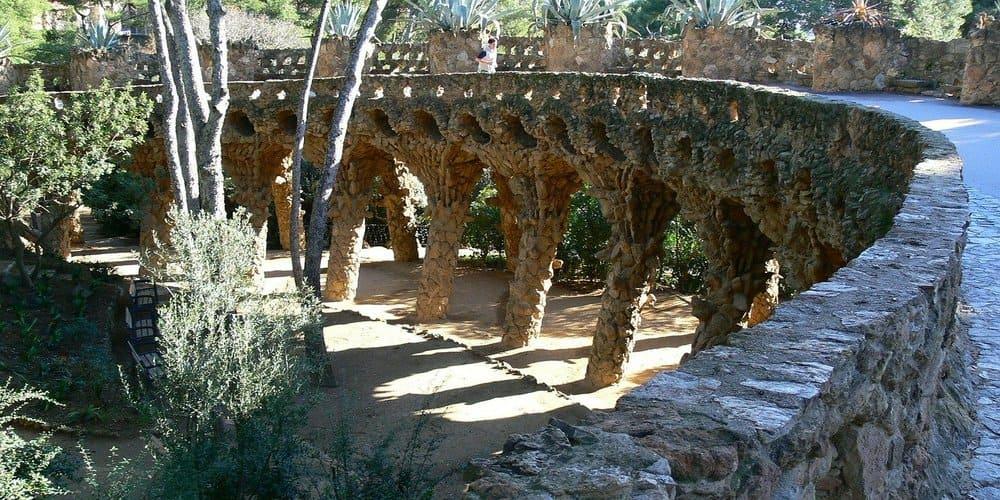 El Parque Guell es el parque de Barcelona más conocido