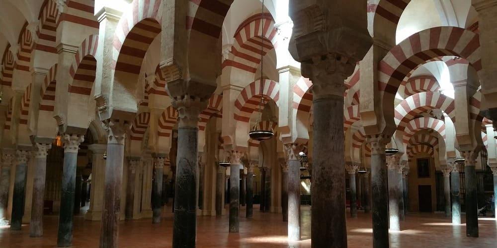 Bosque de Columnas una de las partes de la Mezquita de Córdoba más impresionante