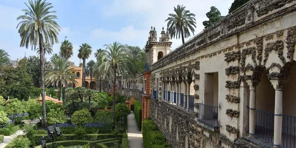 Real Alcázar de Sevilla, disfruta de su impresionante paisaje
