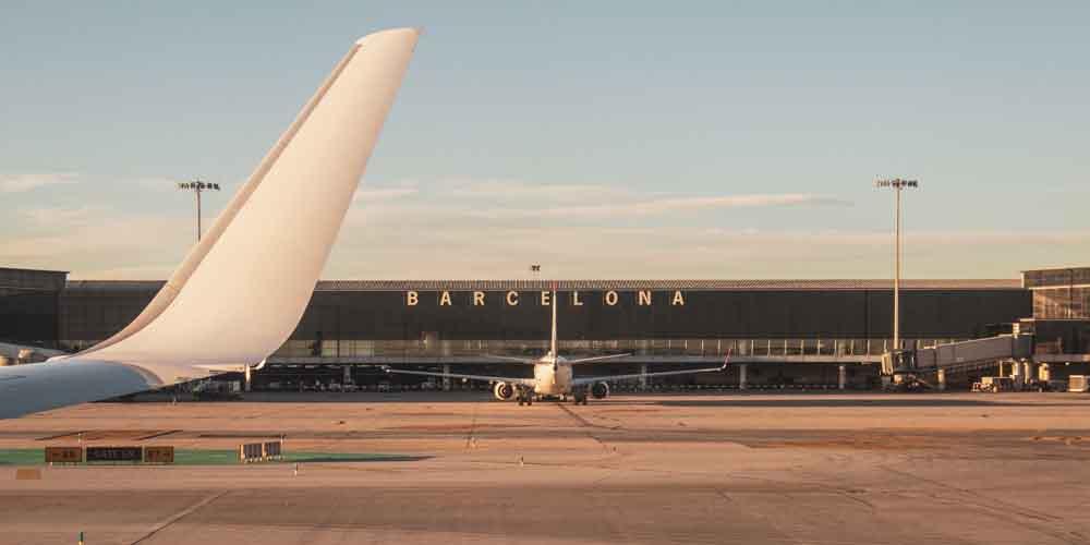 Conexión de la red de transporte público de Barcelona con el Aeropuerto del Prat.