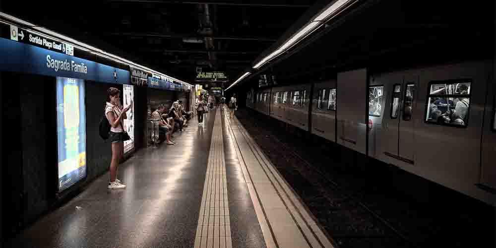 Líneas de metro que trabajan en la red de transportes públicos del área metropolitana de Barcelona (TMB).