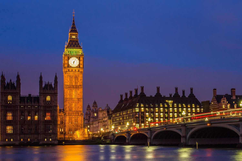 El Big Ben de Londres, un símbolo de la capital de Inglaterra