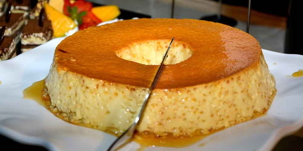 El sticky toffee pudding, un postre de la comida típica de Inglaterra.