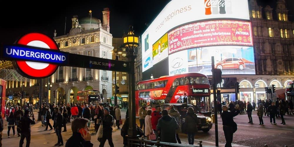 Estación de metro de Piccadilly Circus