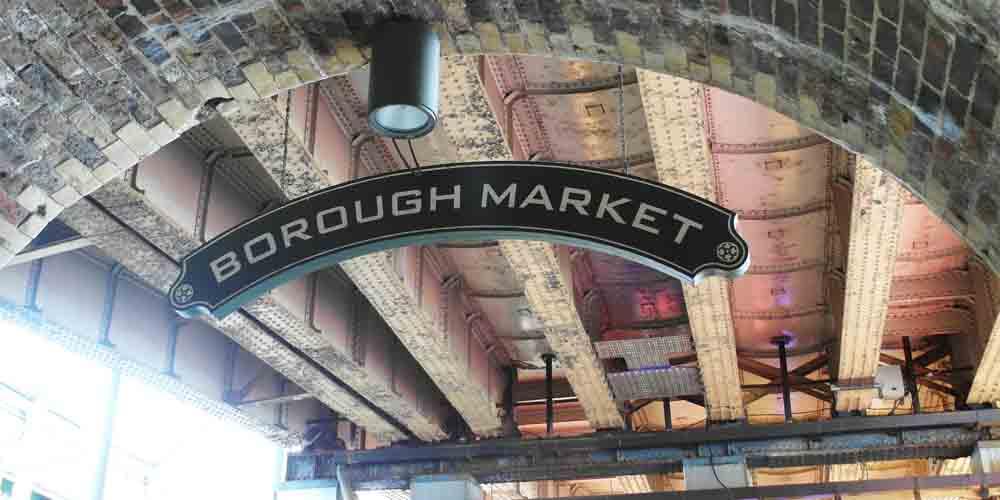 El Borough Market tiene productos frescos y la cara más cotidiana de Londres.