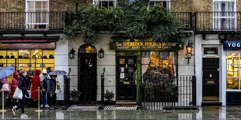 El Museo de Sherlock Holmes en Marylebone.