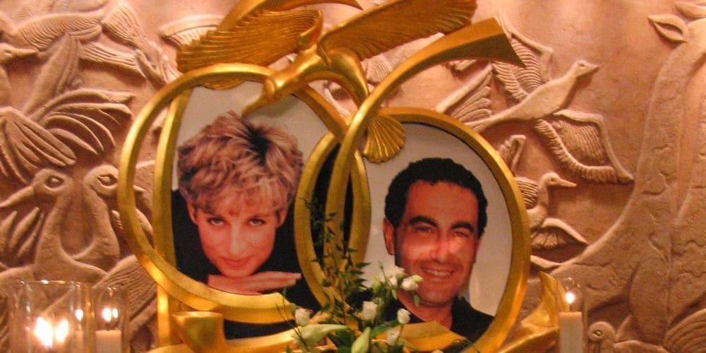 Monumento conmemorativo de Diana de Gales en los almacenes Harrods de Londres