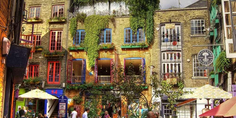 Los coloridos edificios de Neal's Yard