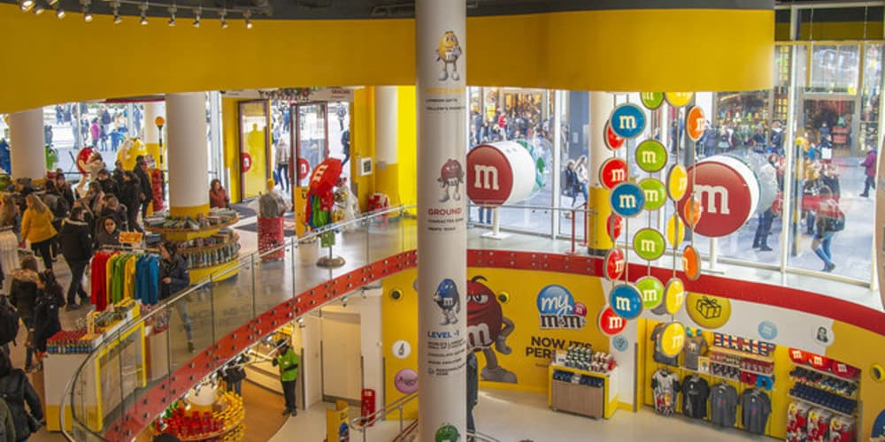 M&M'S World de Piccadilly Circus en Londres