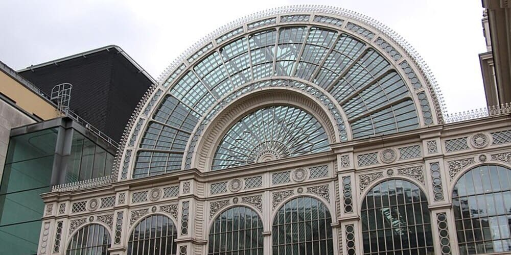 Fachada de la Roya Opera House