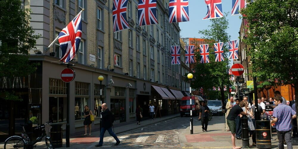 La zona de Seven Dials, entre Covent Garden y el Soho de Londres
