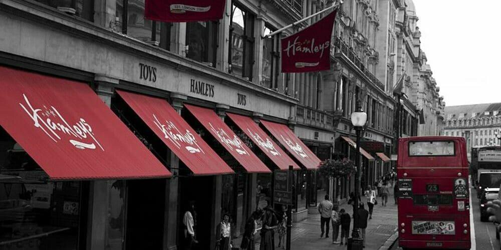 Juguetería Hamley's de Londres, una de las actividades favoritas de los niños