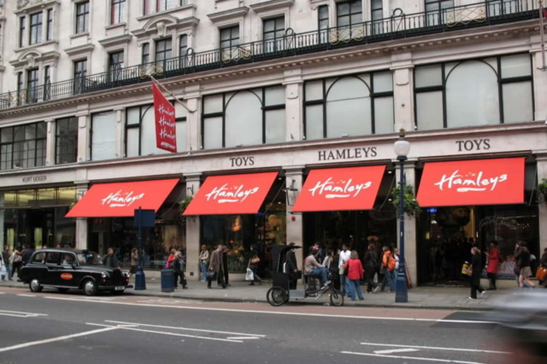 Hamleys: La juguetería de Londres más grande del mundo