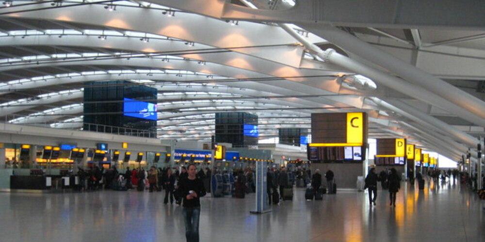 Heathrow. uno de los aeropuertos de Londres más importantes