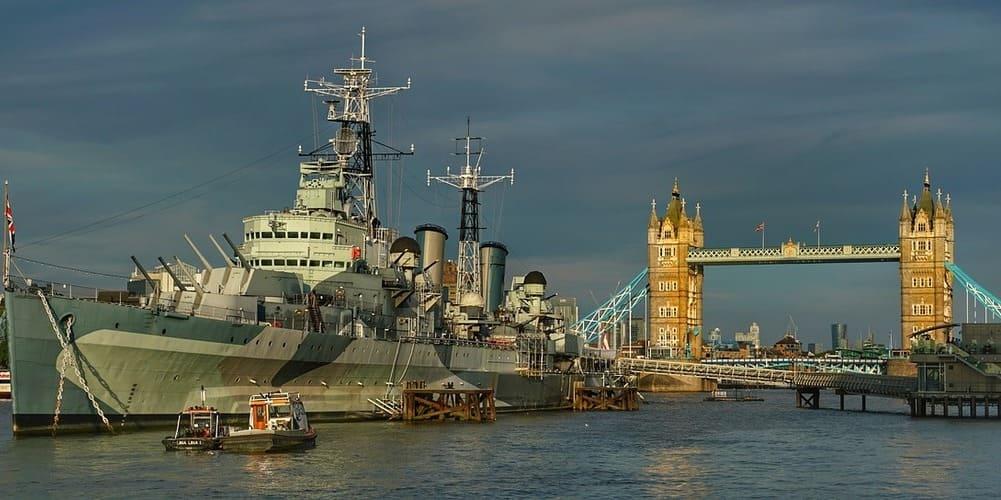 El HMS Belfast, un lugar increíble para visitar con los más peques