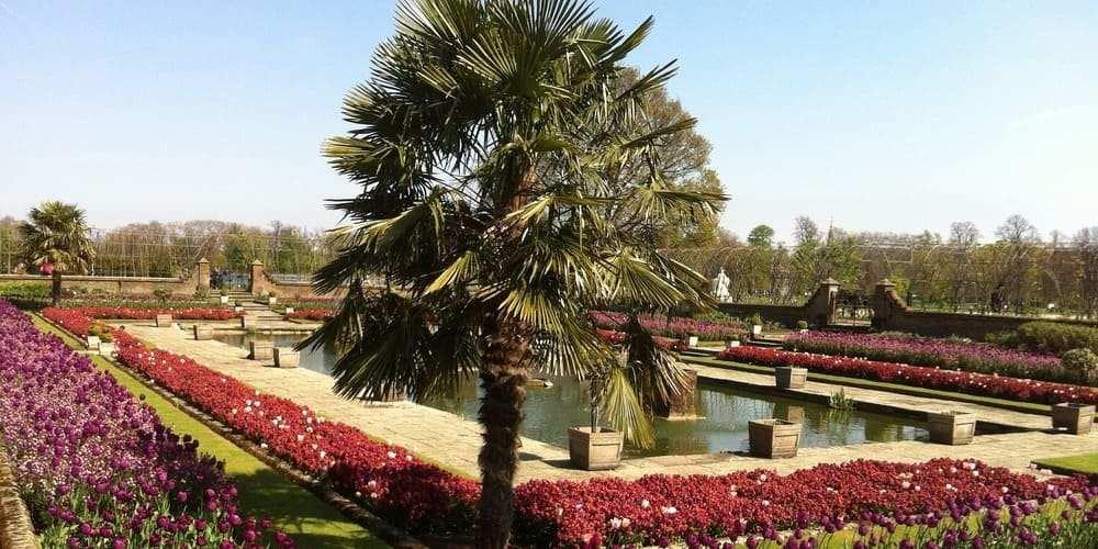 Kensington Gardens, uno de los parques más importantes de Londres