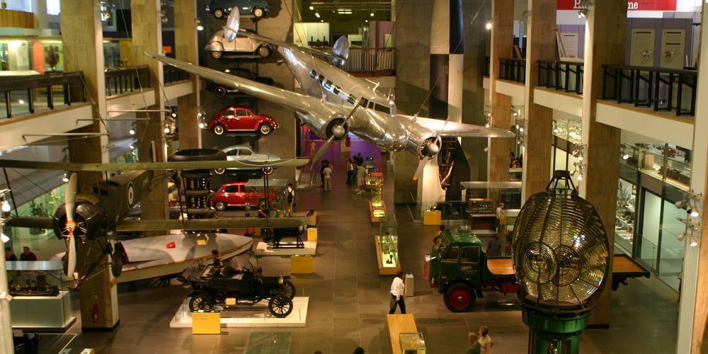 El Museo de la Ciencia de Londres, aquí los niños disfrutarán mucho