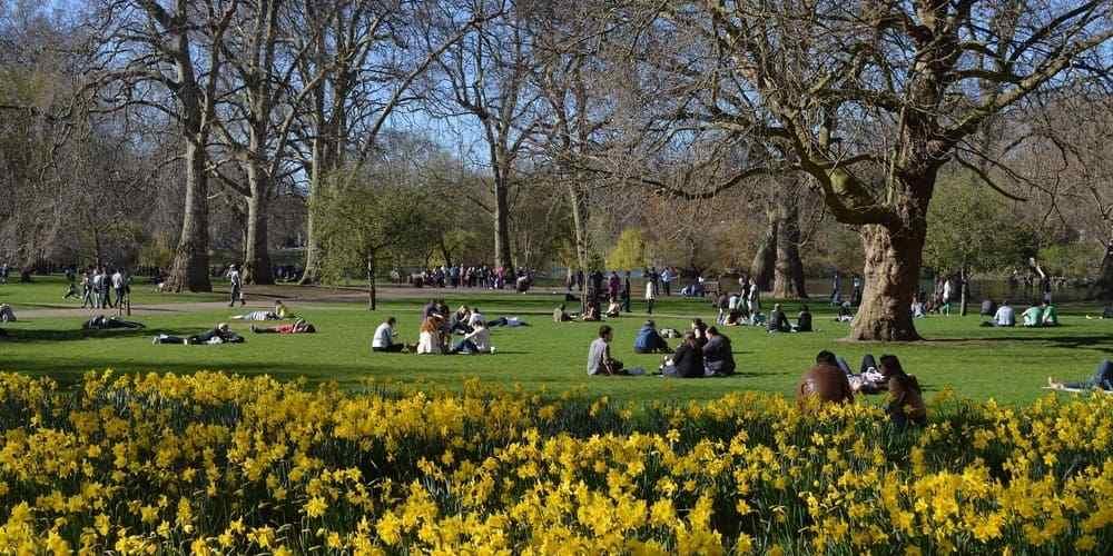 St James's Park en la capital londinense